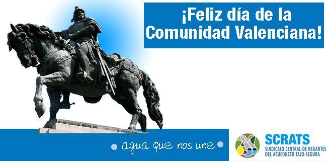 9 de octubre, día de la Comunidad Valenciana