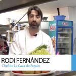El chef Rodi Fernández, de La cava de Royán, se suma al 40º Aniversario del Trasvase Tajo-Segura