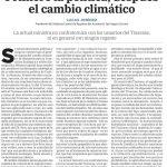 Primero la política, después el cambio climático