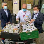 La iniciativa «Sanitarios, gracias de corazón» ha llegado al Hospital Rafael Méndez de Lorca y al Hospital Público Comarcal la Inmaculada de Huércal-Overa